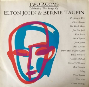 V/A - Two Rooms: Celebrating The Songs Of Elton John & Bernie Taupin (LP) (G/G+)
